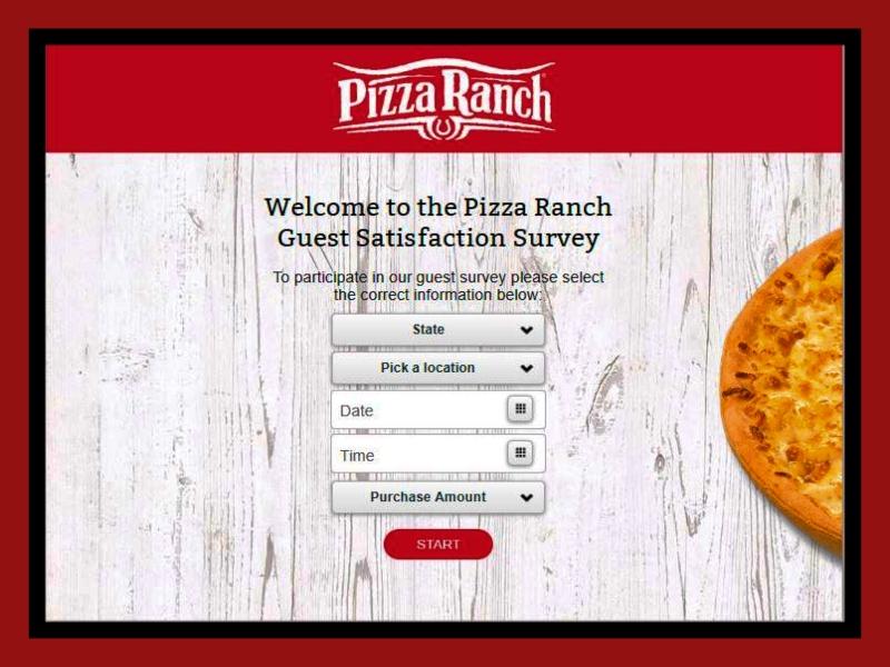 Pizza Ranch Guest Satisfaction Survey 2021